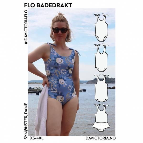 Flo Badedrakt (XS-4XL) - Dame - Ida Victoria