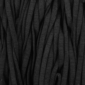 Bilde av Mykt strikk til munnbind - Sort flat