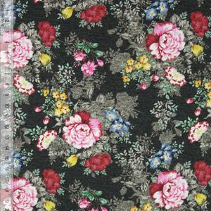 Bilde av Sweet Roses Sort - Kanvas