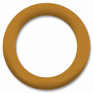 Bilde av Sennepsgul Ring Snapsource metalltrykknapp - 10 stk