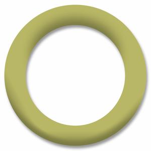 Bilde av Lys Oliven Ring Snapsource metalltrykknapp - 10 stk