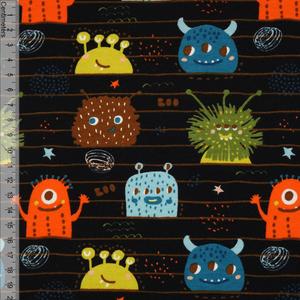 Bilde av Monster Stripe Sort - Soft Gots Isoli