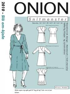 Bilde av Omslagskjole 34-46 - Onion 2010