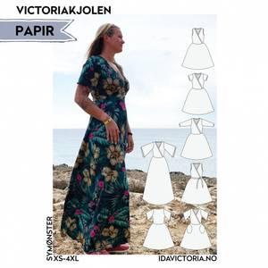 Bilde av Victoriakjolen (XS-4XL) - Dame - Ida Victoria