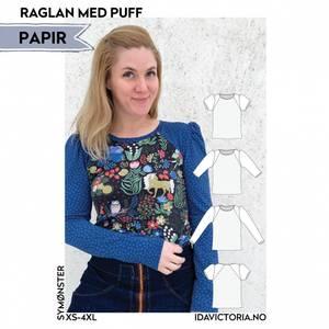 Bilde av Raglan med puff - Dame - Ida Victoria