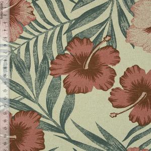 Bilde av Blomst & Blad Natur/Mauve - Kanvas (006)