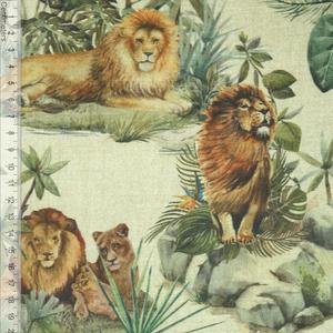 Bilde av Jungle Lion - Kanvas