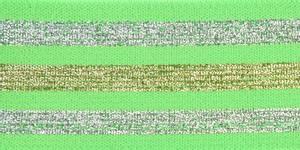 Bilde av Lime Glitterstripe Strikk 40 mm