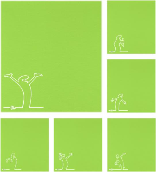 Lime Streken - Hals