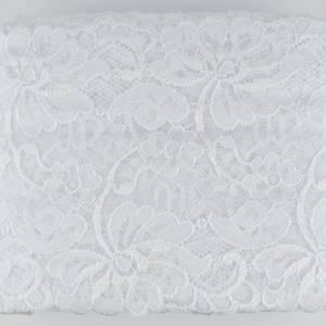 Bilde av Hvit Bred Elastisk Blonde 150 mm