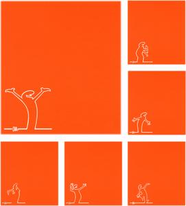 Bilde av Orange Streken - Hals