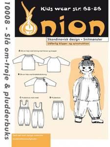 Bilde av Omslagsgenser og lekebukse 6-18 mnd - Onion 10008