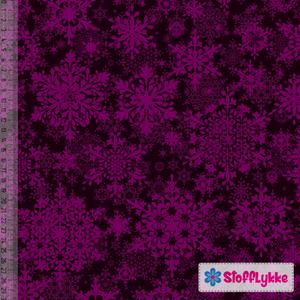 Bilde av Purple Snowflake - GOTS Jersey