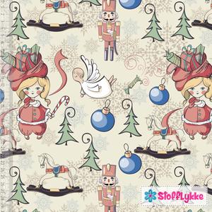 Bilde av Vintage Christmas Girl - GOTS Jersey
