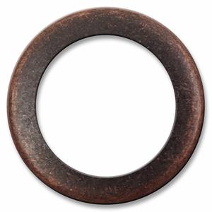 Bilde av Antikk Kobber Ring Snapsource metalltrykknapp - 10 stk