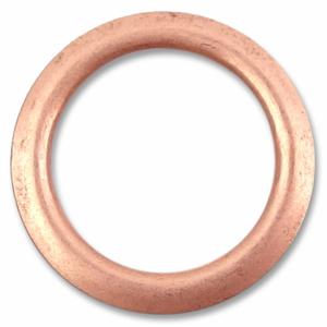 Bilde av Rose Gull Ring Snapsource metalltrykknapp - 10 stk
