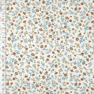 Bilde av Flower Sprinkle Hvit - Fast Bomull