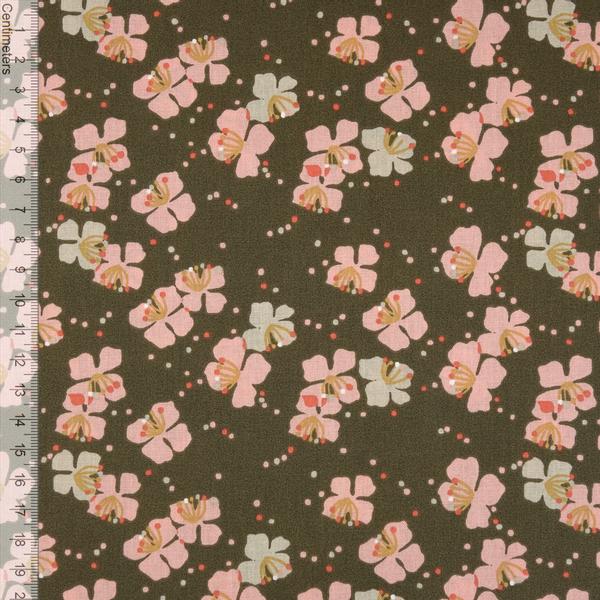 Bloom Brun/Rose - Fast Bomull