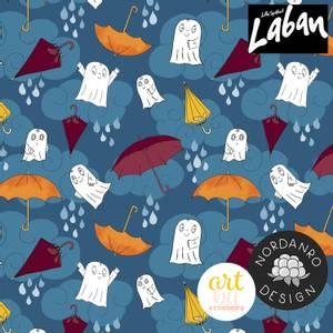 Bilde av Laban In the Rain Deep Blue - GOTS Jersey