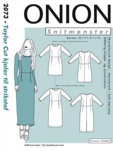 Bilde av Taylor cut kjole XS-XL - Onion 2073