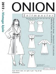 Bilde av Vintage Kjole 34-46 - Onion 2012