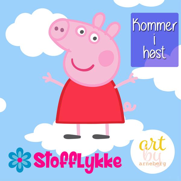 Peppa Pig kommer i Stofflykke