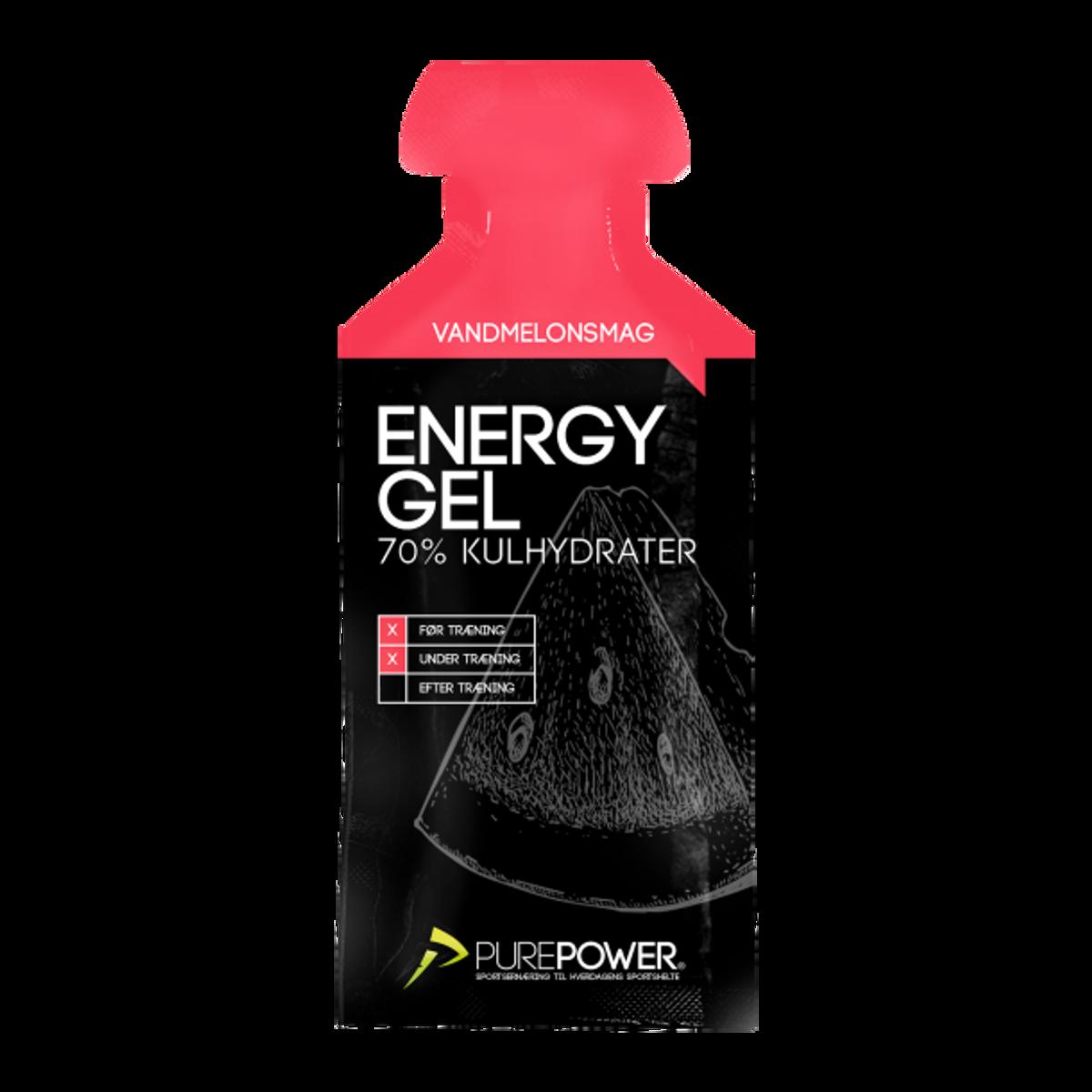 PurePower Energy Vannmelon Gel 18 stk