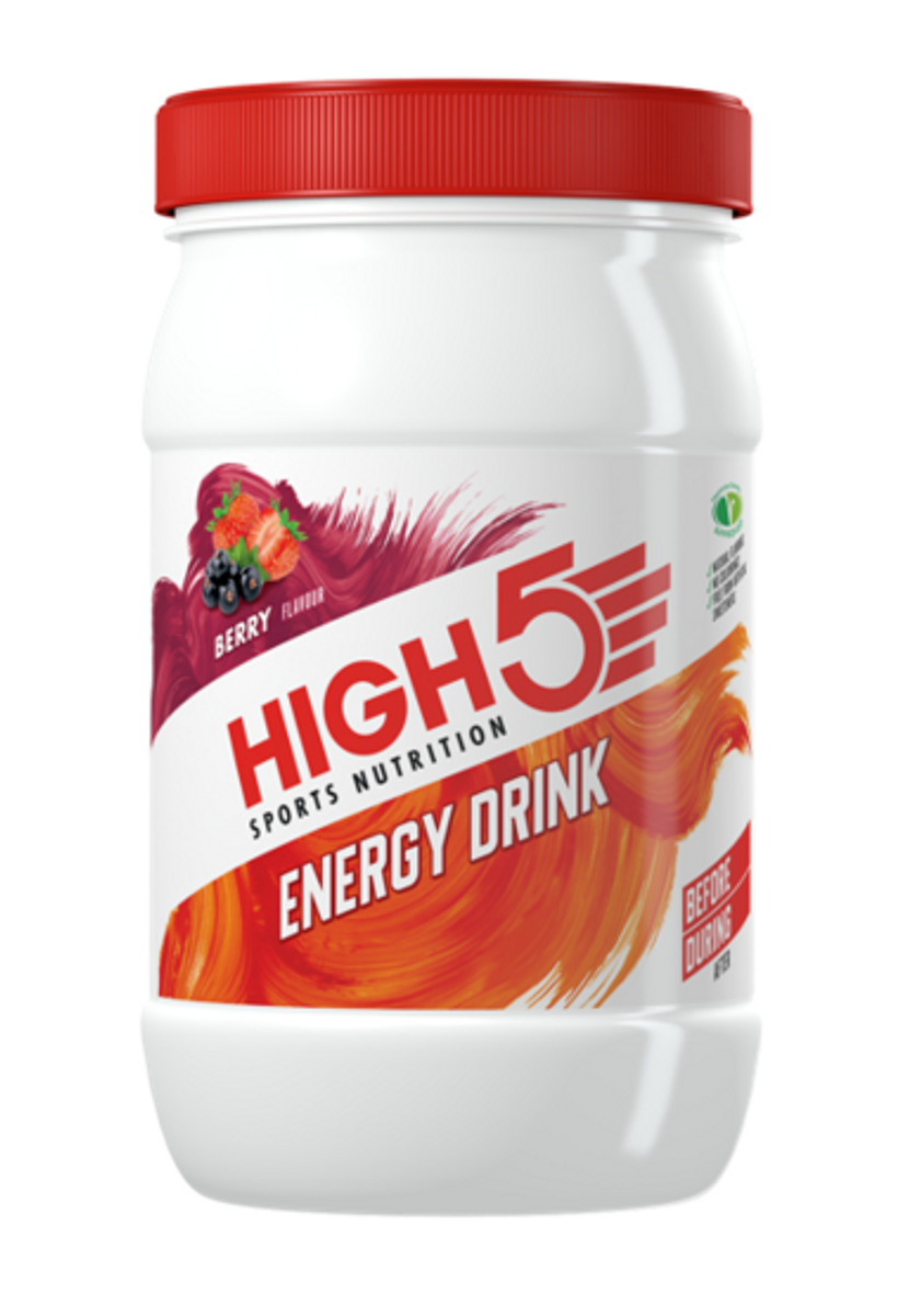 High5 Energy Drink Bær 1kg Sportsdrikk pulver