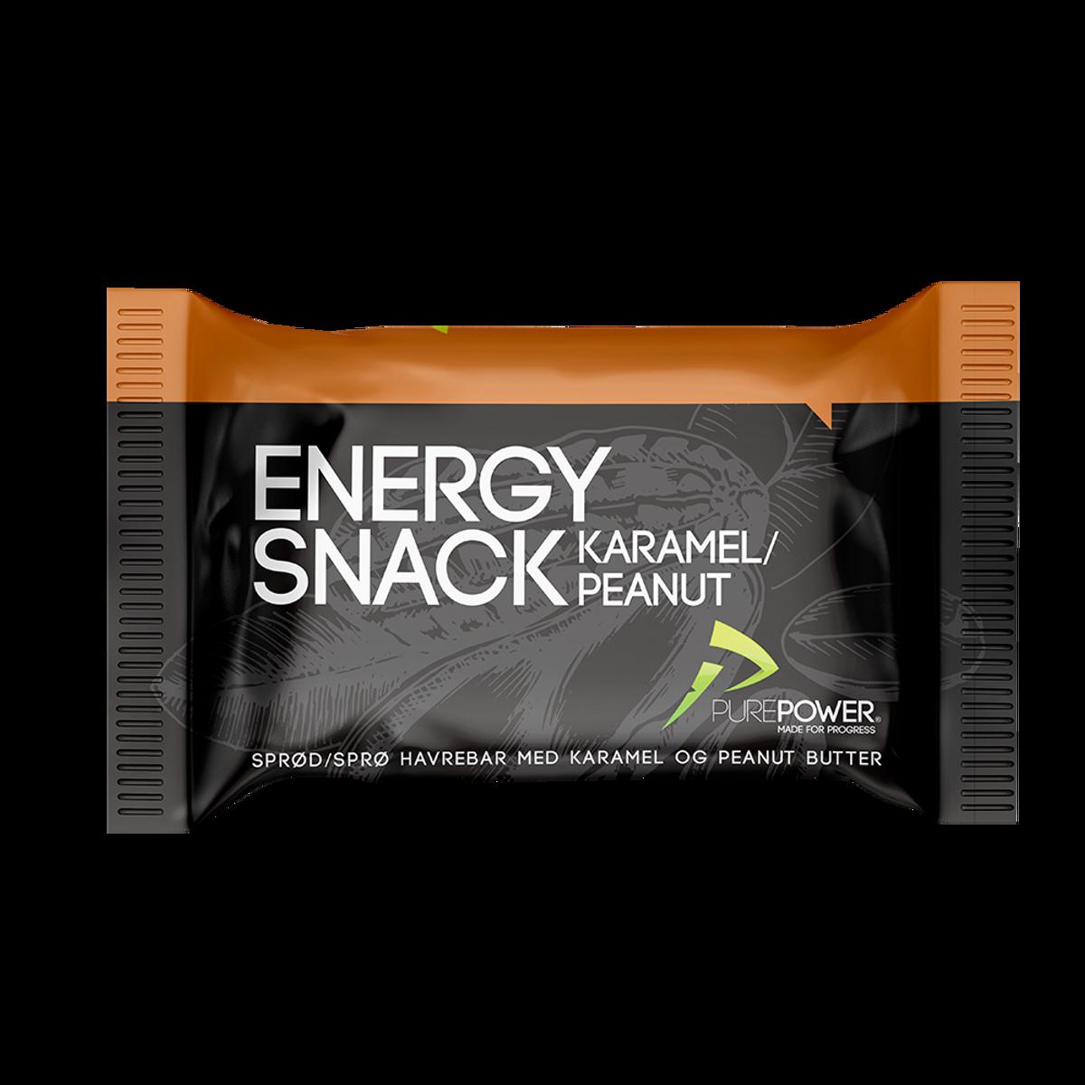 PurePower Energy Snack Caramel & Peanut Bar