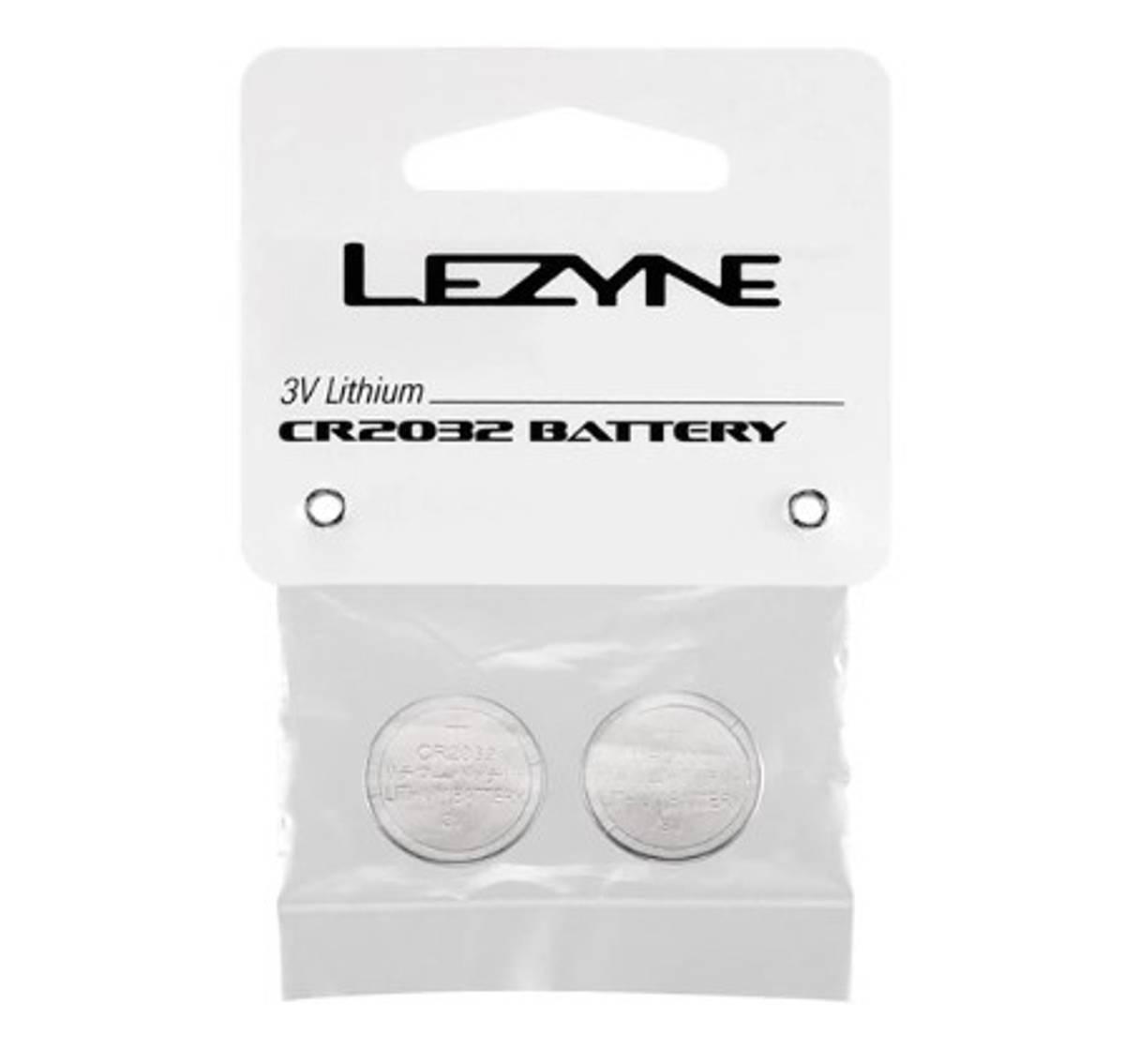 Lezyne CR 2032 Batteri 2.pk