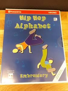 Bilde av Hip Hop Alphabet Embroidery