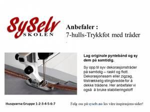 Bilde av Husqvarna 7-hulls Trykkfot