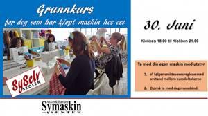 Bilde av Grunnkurs 30.juni  (Onsdag)
