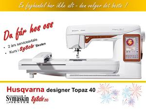 Bilde av Husqvarna Designer Topaz 40