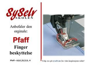 Bilde av Pfaff Fingerbeskyttelse