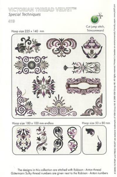 Victorian Thread Velvet Pfaff