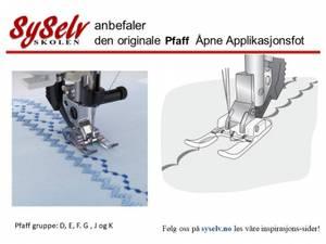 Bilde av Pfaff Klar/transparent åpen
