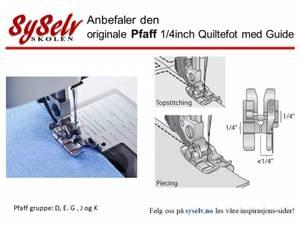 Bilde av Pfaff 1/4 inch Quiltefot med