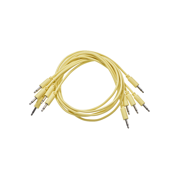 Patch Cable 5-pack 75 cm yellow