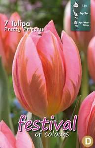 Bilde av Tulipan Pretty Princess 7stk