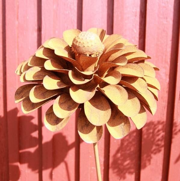 3D blomst Asters stor D38x16cm 110 høy