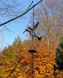 Bilde av Bjelle med fugl og krok