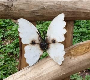 Bilde av Sommerfugl til vegg hvit