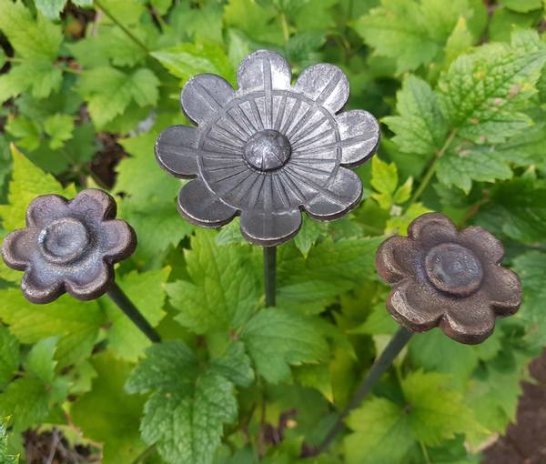 Blomster pinne pakke 3 stykk 100cm