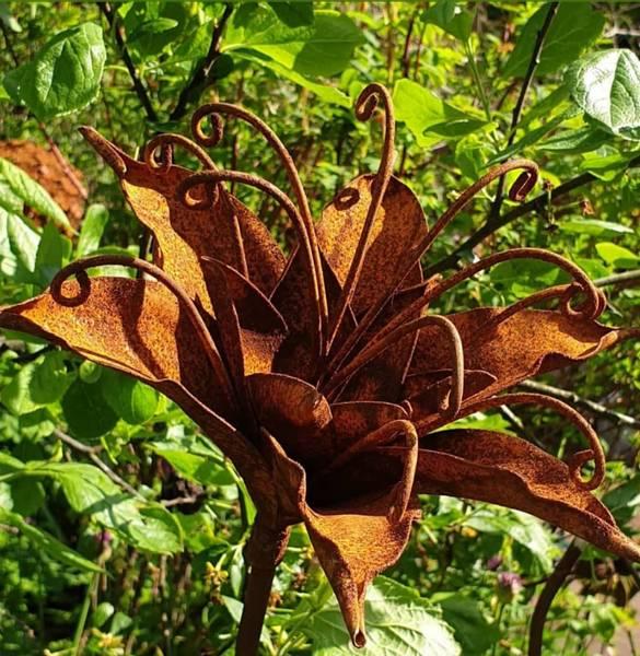 3D blomst fylt lilje