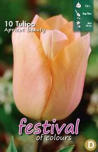 Bilde av Tulipan Apricot Beauty 10stykk