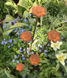Bilde av Blomster pinne med lite hode 100cm