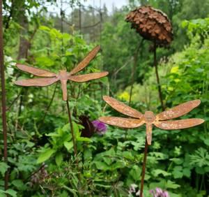 Bilde av Sett av 2 øyenstikker på 80cm pinne