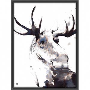 Bilde av Elgen i blekk