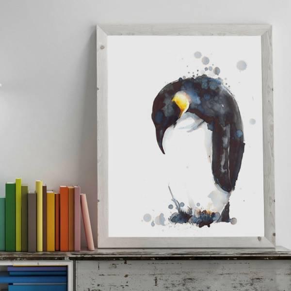 Pingvinen i blekk